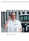 Metrohm Quality Services
