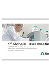 1st Global IC User Meeting - Brochure
