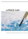 scTRACE Gold - Simple and Reliable Determination of Arsenic in Water Datasheet