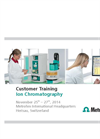 Customer Training Ion Chromatography