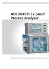 Metrohm - Model ADI 2045TI Ex proof - Process Analyzer Brochure