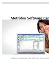 Metrohm Software Care Brochure
