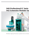 940 Professional IC Vario & 942 Extension Module Vario - Brochure