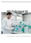 Metrohm - Model 884 Professional VA - Universal System Solution for Voltammetry and CVS - Brochure