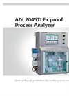 Metrohm - Model ADI 2045TI - Ex Proof Process Analyzer - Brochure