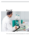 Metrohm - Model Eco IC - Ion Chromatography System - Datasheet