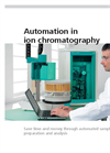 Automation in Ion Chromatography - Brochure