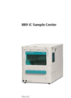 Metrohm - Model 889 - IC Sample Center - Manual