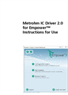 Metrohm IC Driver 2.0 for Empower - Instructions for Use Manual