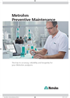 Metrohm - Preventive Maintenance Services - Brochure