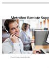 Metrohm Remote Support Services Brochure