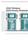 2026 Titrolyzer/2029 Process Photometer -  Powerful and Compact Single Method Online Analyzers - Brochure