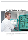 Metrohm - Model 875 KF - Gas Analyzer System - Brochure