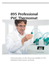 Metrohm - Model 895 - Professional PVC Thermomat - Brochure
