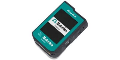 Metrohm - Model Mira M-3 - Handheld Raman Spectrometer for Advanced Package