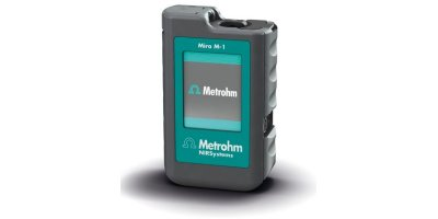 Metrohm - Model Mira M-1 - Handheld, High-Performance Raman Spectrometers for Advanced Package