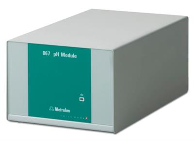 Metrohm - Model 2.867.0010 - 867 pH Module for pH/ion Measurement
