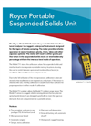 Royce - Model 711 - Portable Suspended Solids Unit Brochure