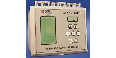 Royce - Model 2511A - Interface Level Analyzer and Sensors