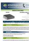 EnviroGuard - Model HGS100 - Universal Single Weight Bonded Pad - Brochure