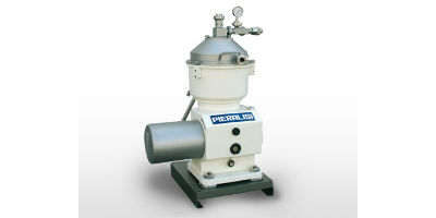 Pieralisi - Model S200 MK 44 - Centrifugal Separators with Solids Retaining Bowl