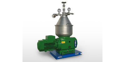 Pieralisi - Model S300 VO 33 - Centrifugal Separators with Solids Retaining Bowl