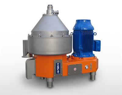 Pieralisi - Model SU 400 AL 01 - Centrifugal Separators with Nozzles