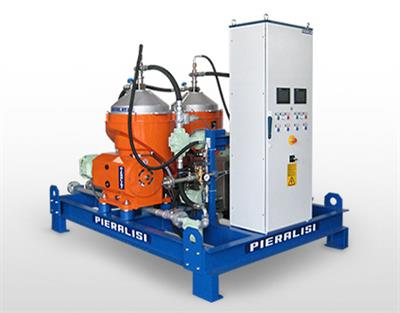 Pieralisi - Model FPC 6 MO 32 - Centrifugal Separators with Automatic Discharge