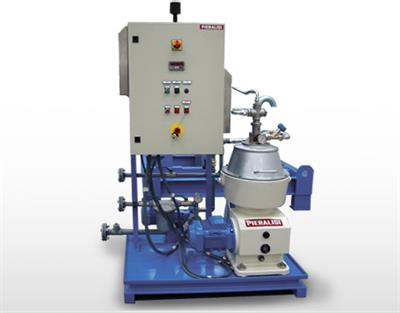 Pieralisi - Model S200 MO 32 - Centrifugal Separators with Solids Retaining Bowl