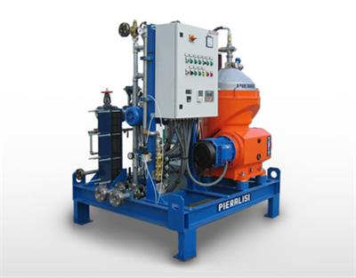 Pieralisi - Model FPC 12 HF 33 - Centrifugal Separators with Automatic Discharge