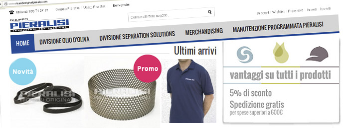 Pieralisi - E-Commerce Services