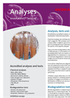 Analyses, Tests And Assays Services Brochure