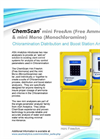 ChemScan - Chloramination Distribution and Boost Station Analyzers - Brochure