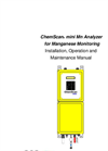 ChemScan mini Mn Analyzer O&M Manual