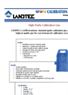 Calibration Gas Kit for Instruments