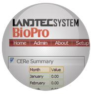 Version BioPro - LANDTEC System Software