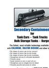 ChlorTainer - Model 150 - Single Secondary Containment Vessel Brochure