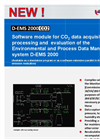 DURAG - D-EMS 2000 Economy - Environmental and Process Data Management System Datasheet