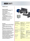 Durag - Model D-LE 703 - Flame Sensor with Optic System Datasheet