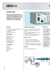 DURAG - Model D-UG 120 - Self-Monitoring and Fail-Safe Control Unit Brochure
