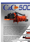 C&C Mfg - Model Al-Jon Series 500CL - Car Logger/Baler - Brochure