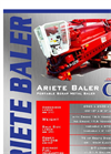 Model Ariete - Portable Scrap Metal Baler - Datasheet