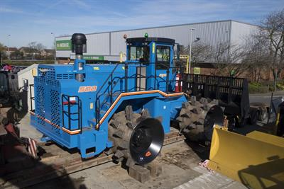 C&C Mfg Al-Jon - Model ADV 500 - Compactor