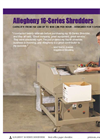 16-Series - High Capacity Shredders Brochure