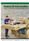 100-Series - High Capacity Shredders Brochure