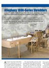 1000-Series - High Capacity Shredders Brochure