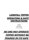 Tipper Operations and Safety Brochure (PDF 134 KB)