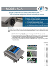 Model SCA - Single Channel Stand Alone Fixed Gas Detector Brochure