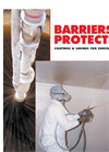 Sauereisen - Barriers of Protection for Coatings & Linings for Concrete and Steel - Datasheet