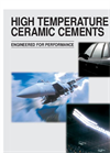 High Temperature Ceramic Cements - Brochure